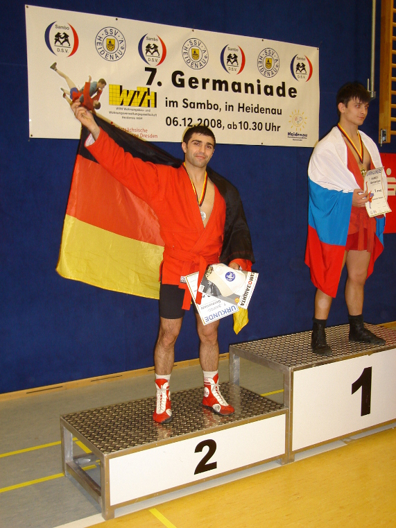 06.12.2008 Germaniade in Heidenau. 74 kg